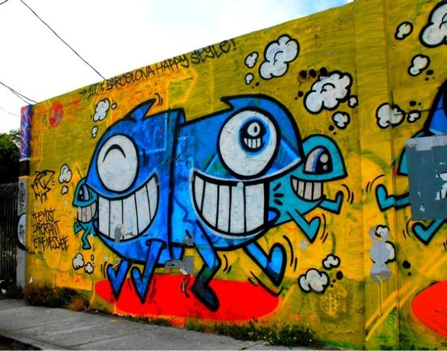 Miami - Wynwood Arts District happy style