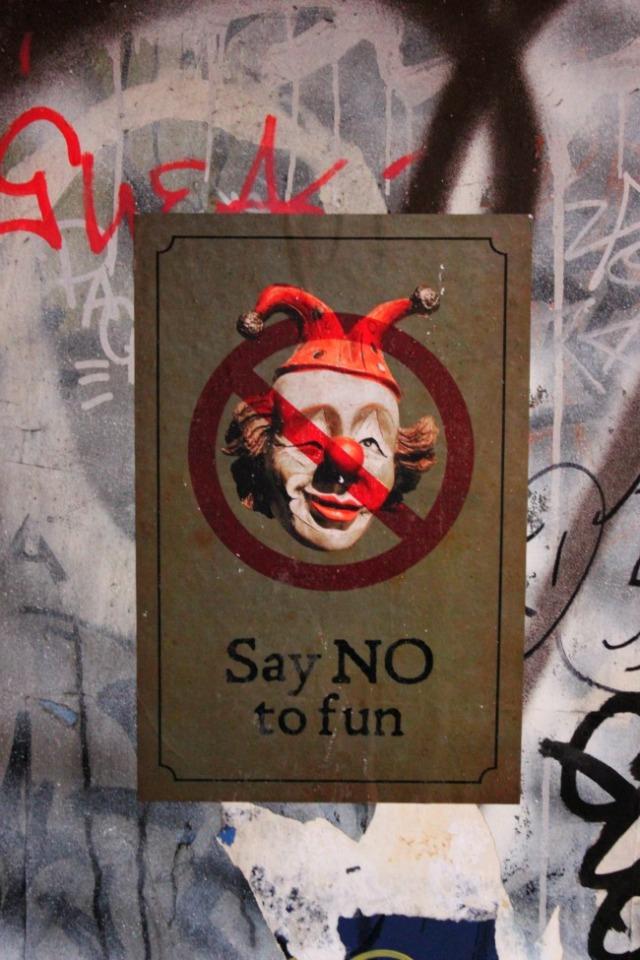 Vancouver - Say No graffiti
