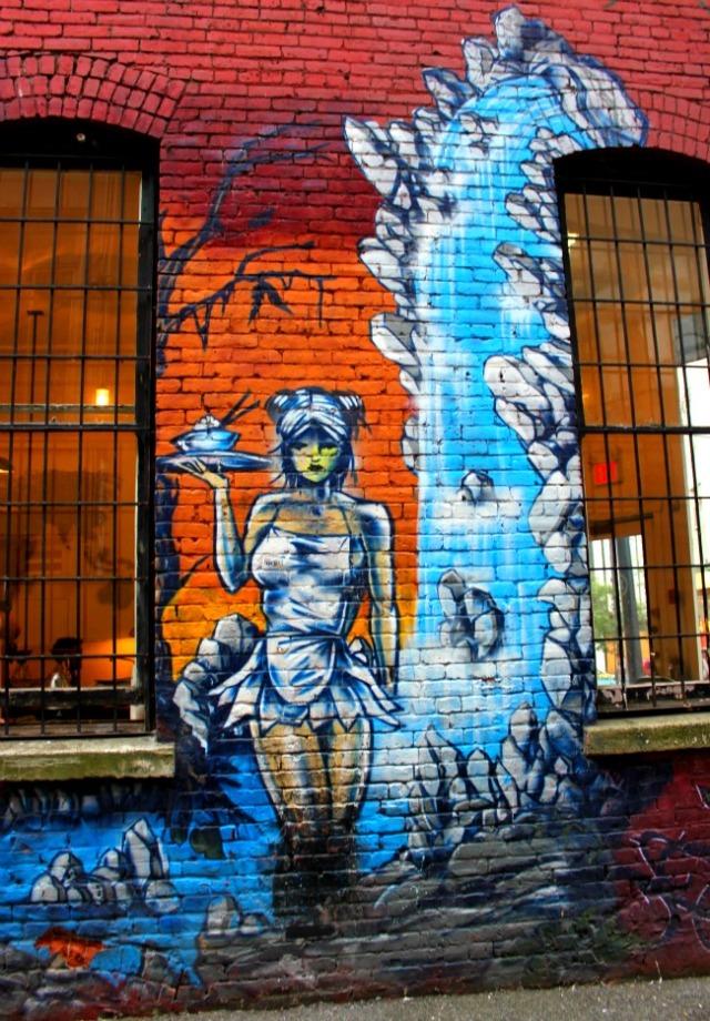 Vancouver - graffiti creature