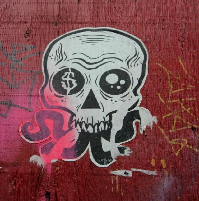 Vancouver - money graffiti