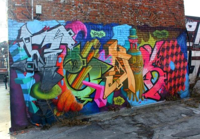 Toronto - turkey graffiti