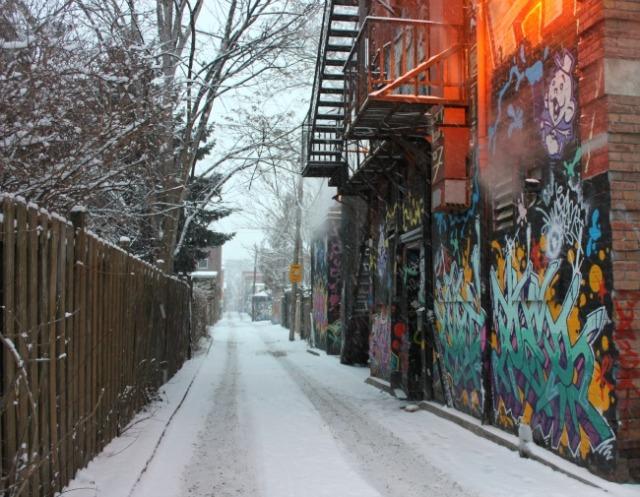 Toronto - Drake Hotel alley