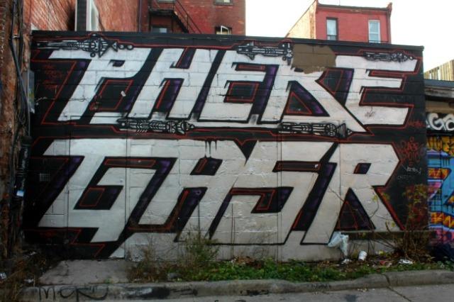 Toronto - space graffiti