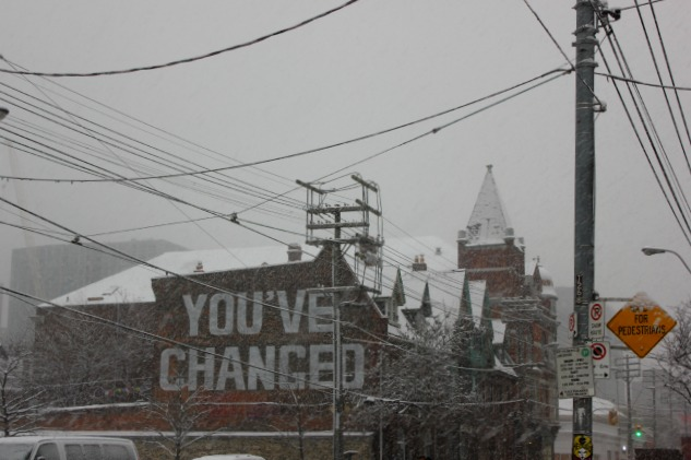 Toronto - sign - youve changed