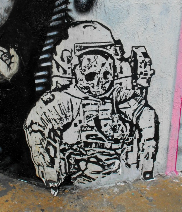 Miami - Wynwood Arts District astronaut