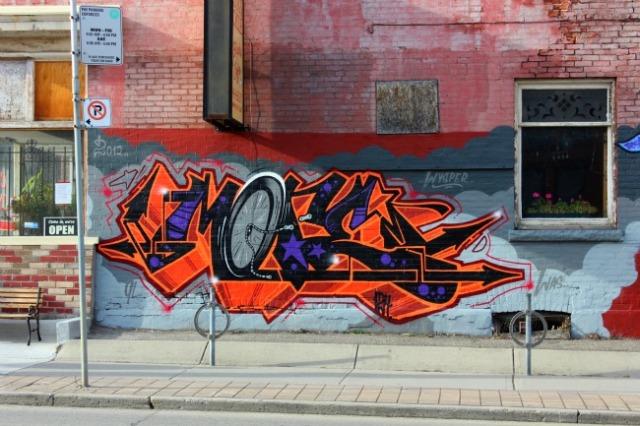 Toronto - Gerrard Street graffiti