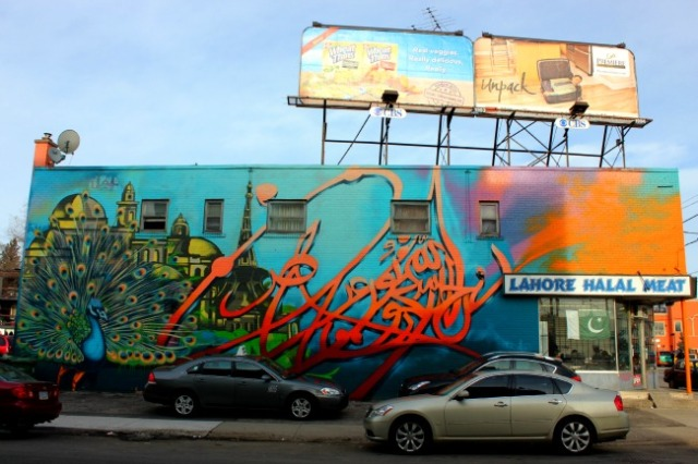 Toronto - Little India mural