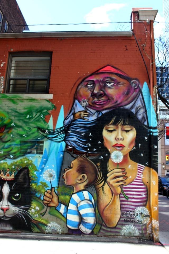 Toronto - spring graffiti