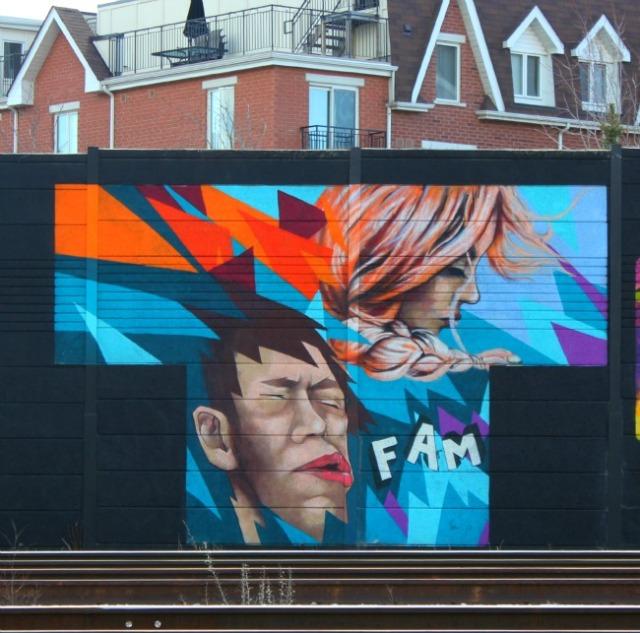 Toronto - FAM graffiti