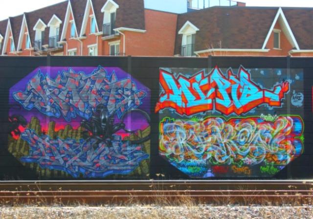 Toronto - intricate graffiti