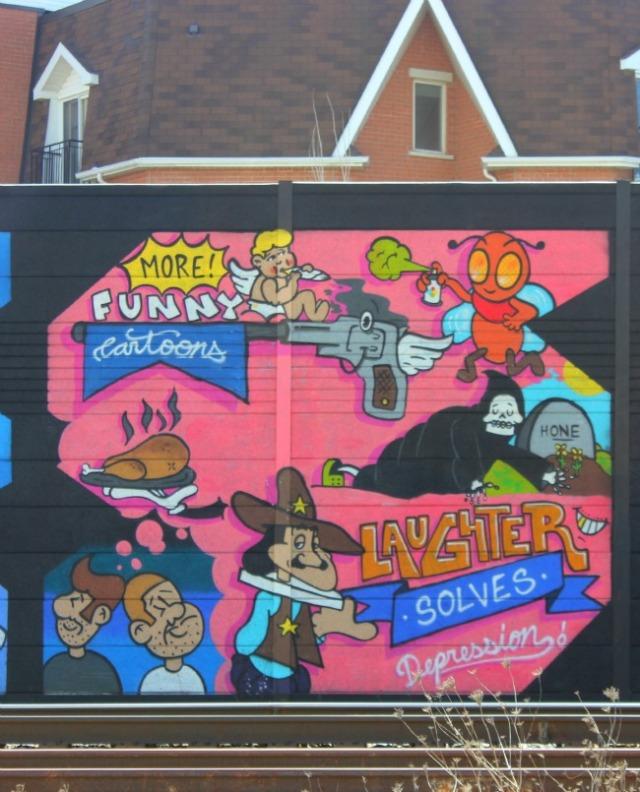 Toronto - more funny graffiti