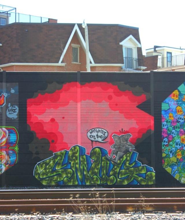 Toronto - graffiti smug