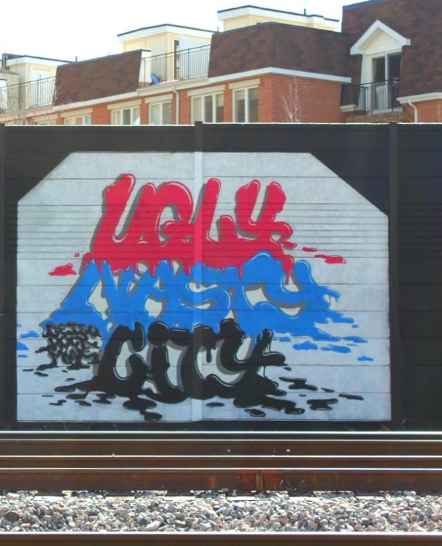 Toronto - graffiti ugly