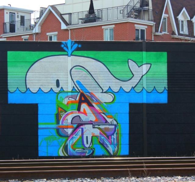 Toronto - graffiti whale