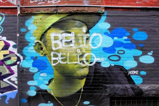 Toronto - graffiti alley belio