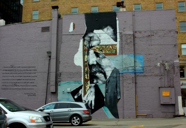 Toronto - mural: dignity 2