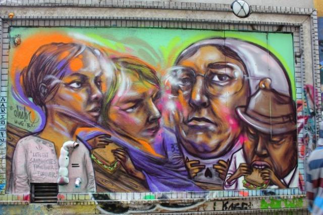 Toronto - graffiti - Let's eat sandwiches