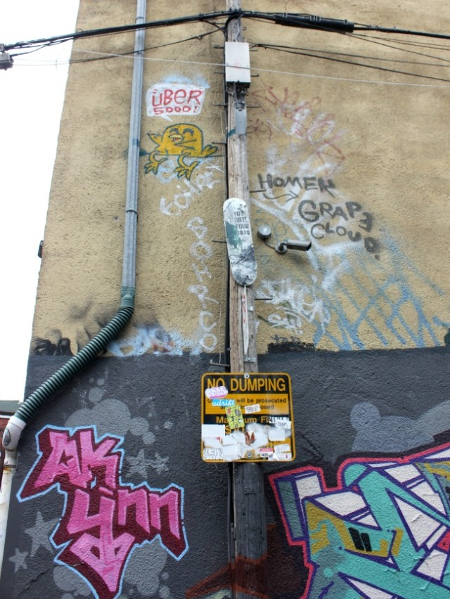 Toronto - graffiti Look up