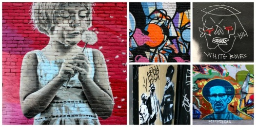 Vancouver -  graffiti collage