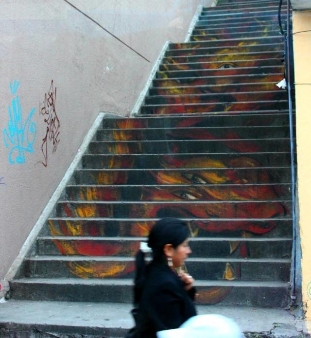 Ecuador - Quito dragon steps