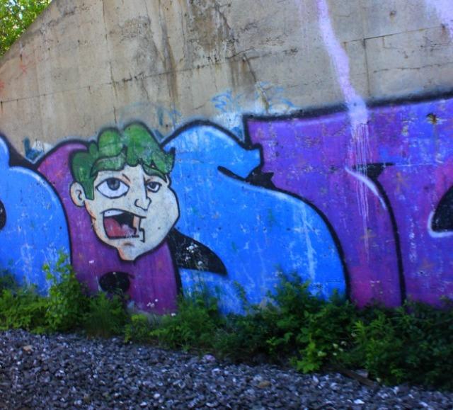 Quebec - train face