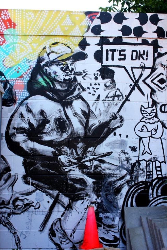 Toronto - Its ok graffiti