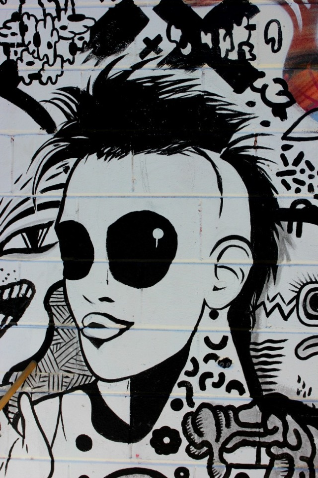 Toronto - KM detail portrait