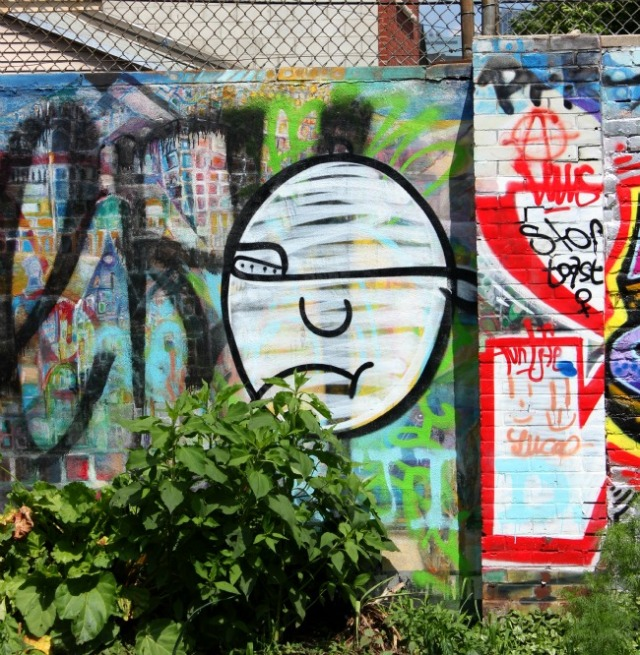 Toronto - Kensington Market one eye face