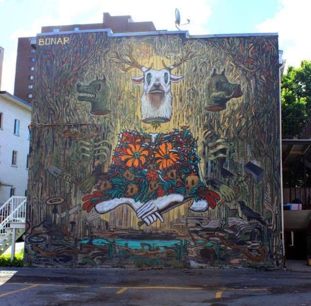 Montreal - Bonar graffiti
