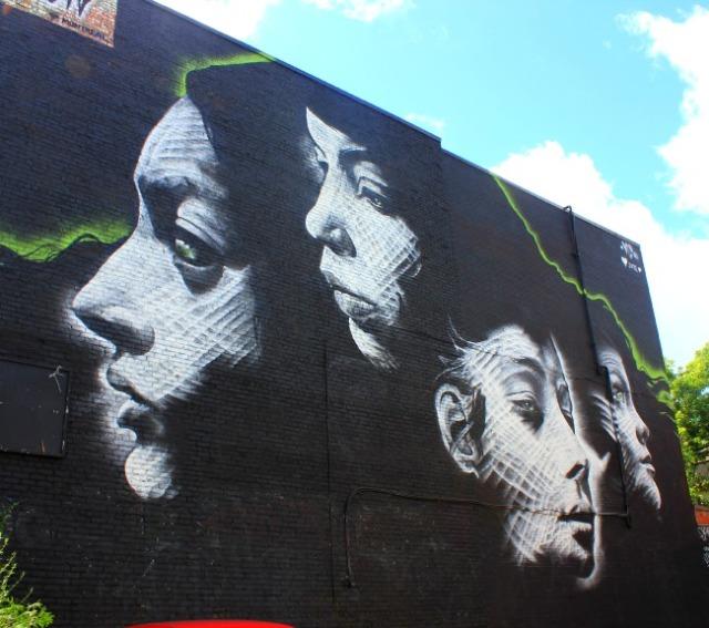 Montreal - graffiti four