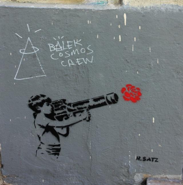 France - Marseille flower bomb