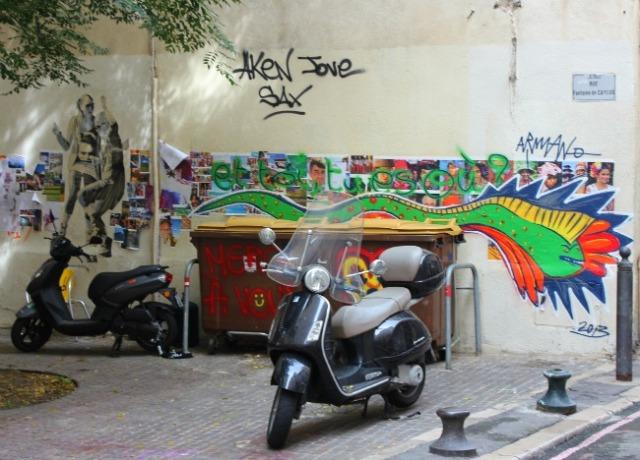 France - Marseille LGC graff