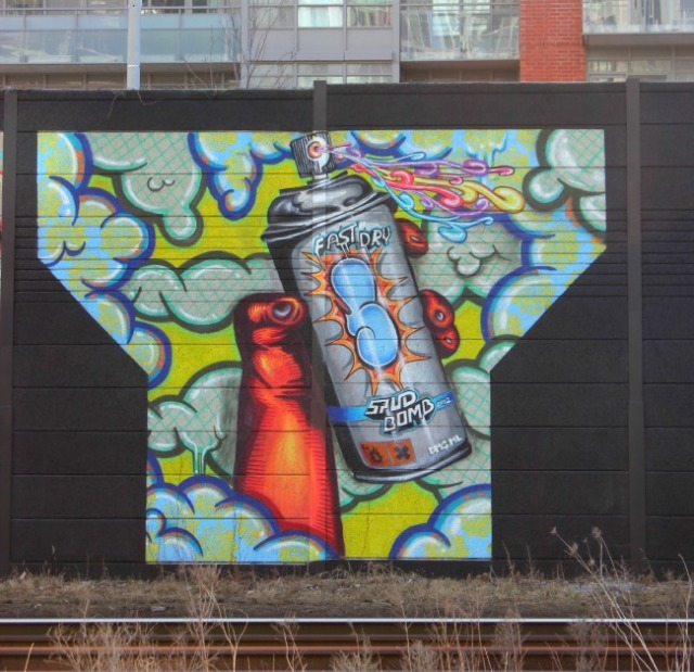 Toronto - fast dry graffiti