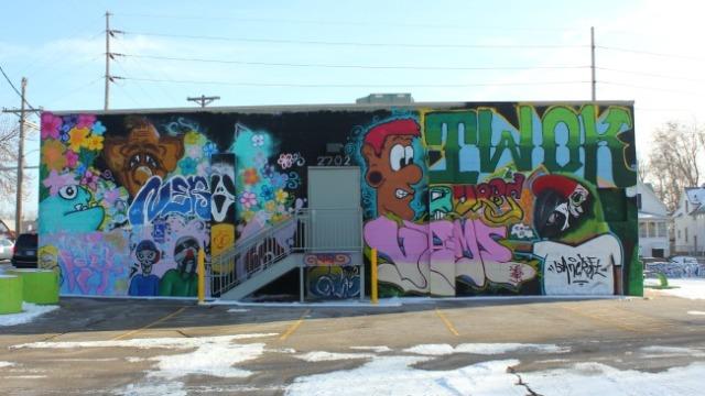 Omaha - twok graffiti