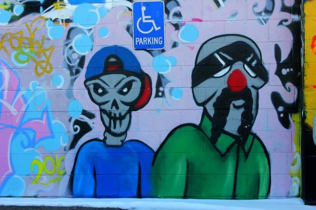 Omaha - graffiti characters