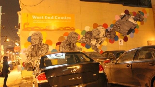 Toronto - dreaming mural