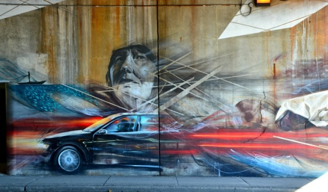 Toronto - graffiti underpass 1