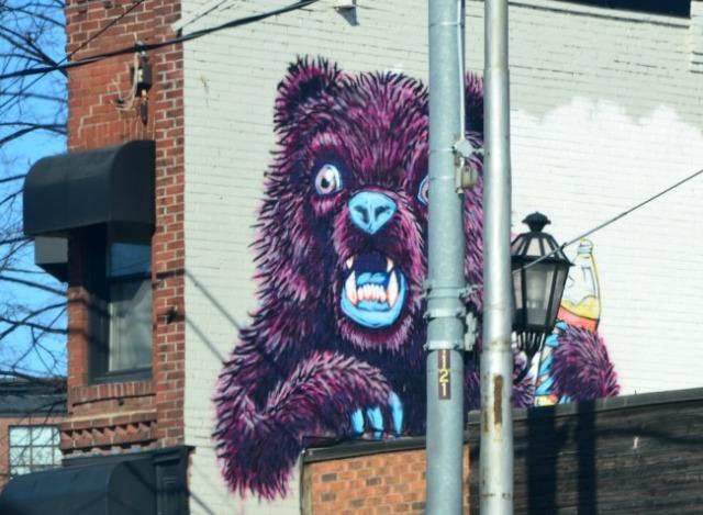 Toronto - graffiti bear