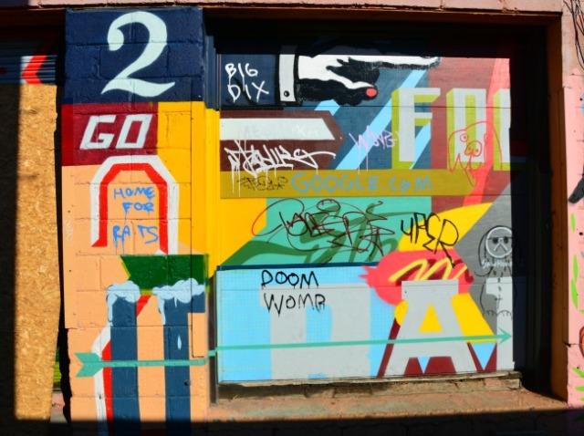 Toronto - graffiti mish mash