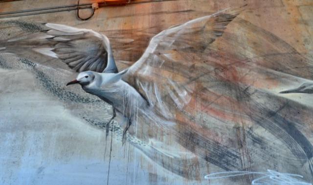 Toronto - seagull mural
