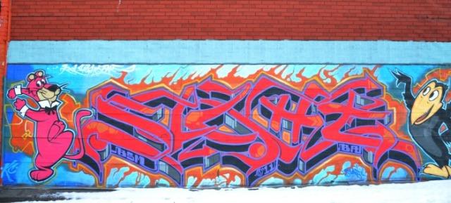 Toronto - graffiti Snagglepuss