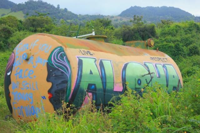 Maui - aloha graffiti