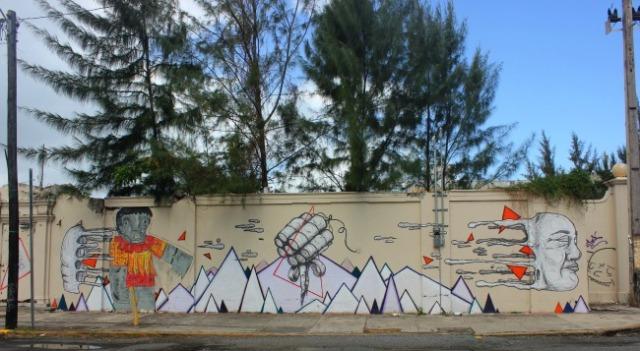Puerto Rico - story wall