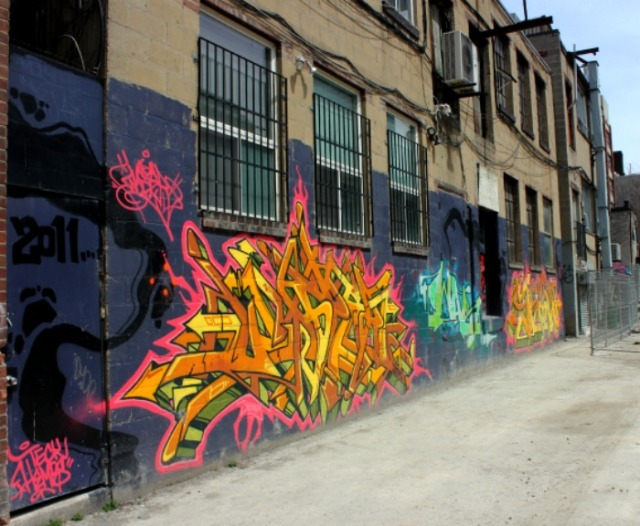 Toronto - graffiti alley