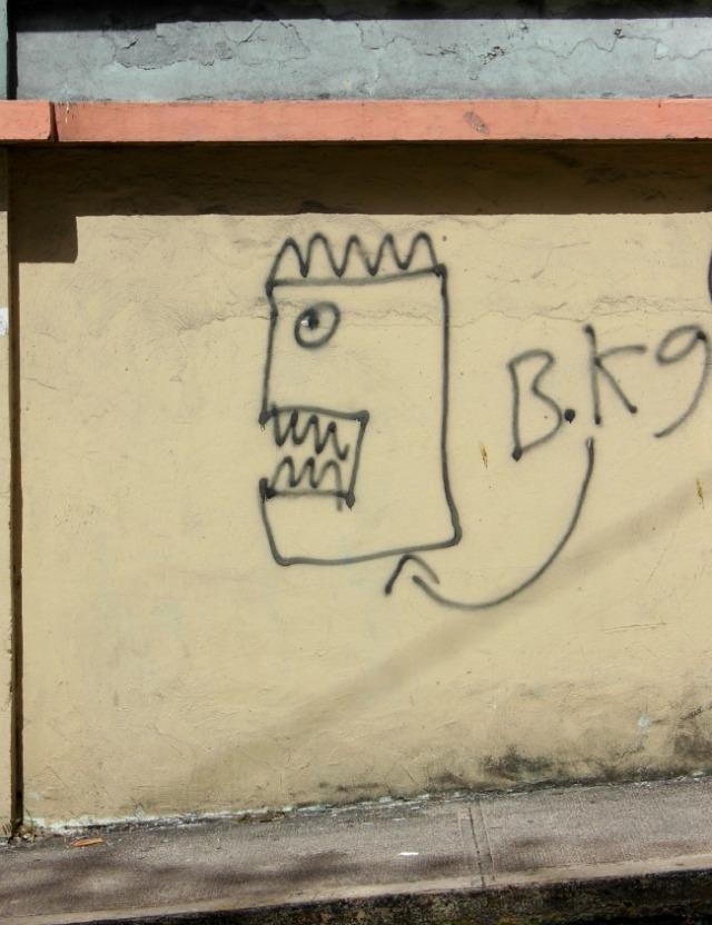 Puerto Rico - primitive graffiti