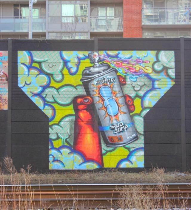 Toronto - graffiti stud bomb