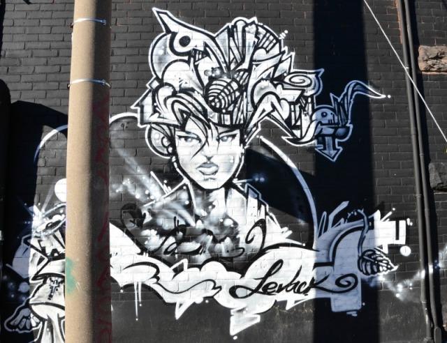 Toronto - Levack graffiti