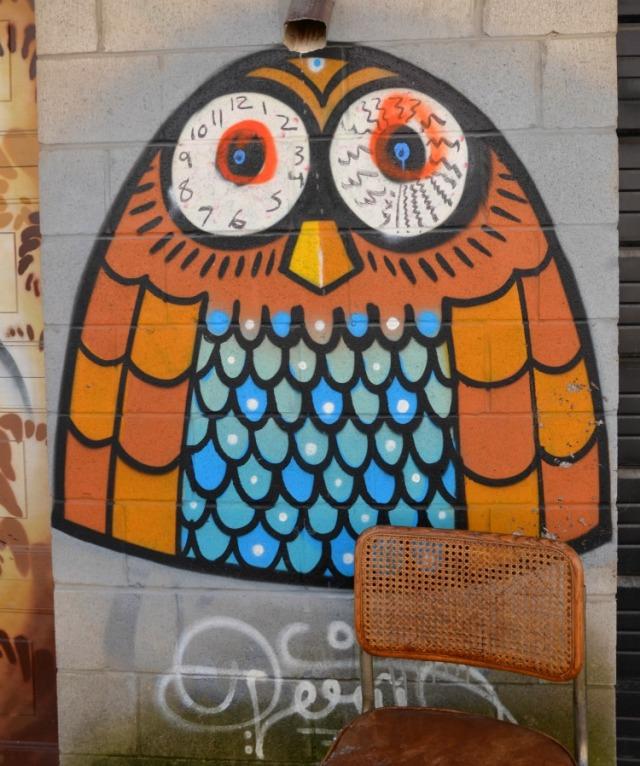 Toronto - graffiti owl
