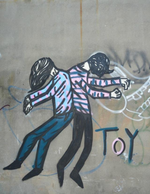 Toronto - graffiti toy