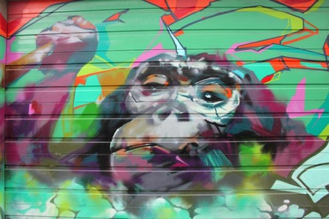 Toronto - garage graffiti a